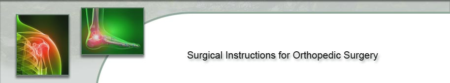 Pre-Surgery Instructions - Day Surgery and Inpatient Surgery